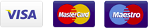 Visa / Mastercard / Maestro