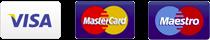 Visa / Mastercard / Maestro
