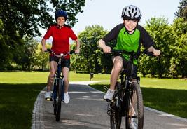 Dos clases de bike para niños